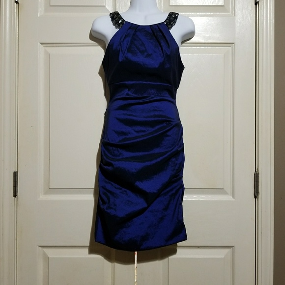 0b0d120d7d90 Xscape Dresses | Ruched Beaded Bodycon Dress 4 | Poshmark